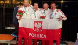 Medalowa drużyna floretowa Alkmaar 2018